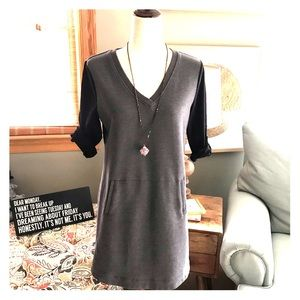 Tunic Grey and Black from Lole